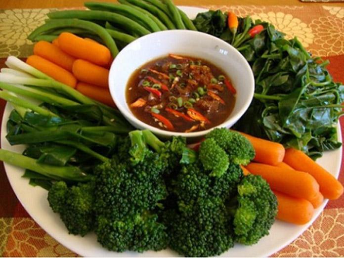 Rau củ quả có chứa nhiều chất xơ - thành phần rất có lợi cho đường tiêu hóa